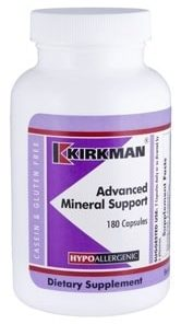 Advanced Mineral Support - Hypoallergenic - 180 capsules