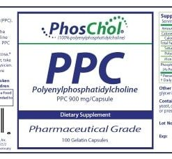 PhosChol 900mg -- Softgel Capsules - 100 capsules - INGREDIENTS