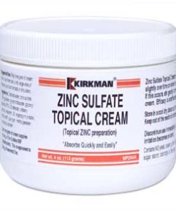 Zinc Sulfate Topical Cream - 4oz / 113gm