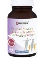 Children's Chewable Calcium Chocolate Wafers - 120 wafers