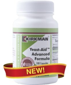 Yeast-Aid™ Advanced Formula - 100 capsules
